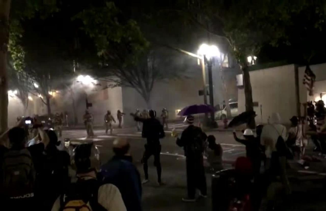 Entire Portland police riot unit resigns