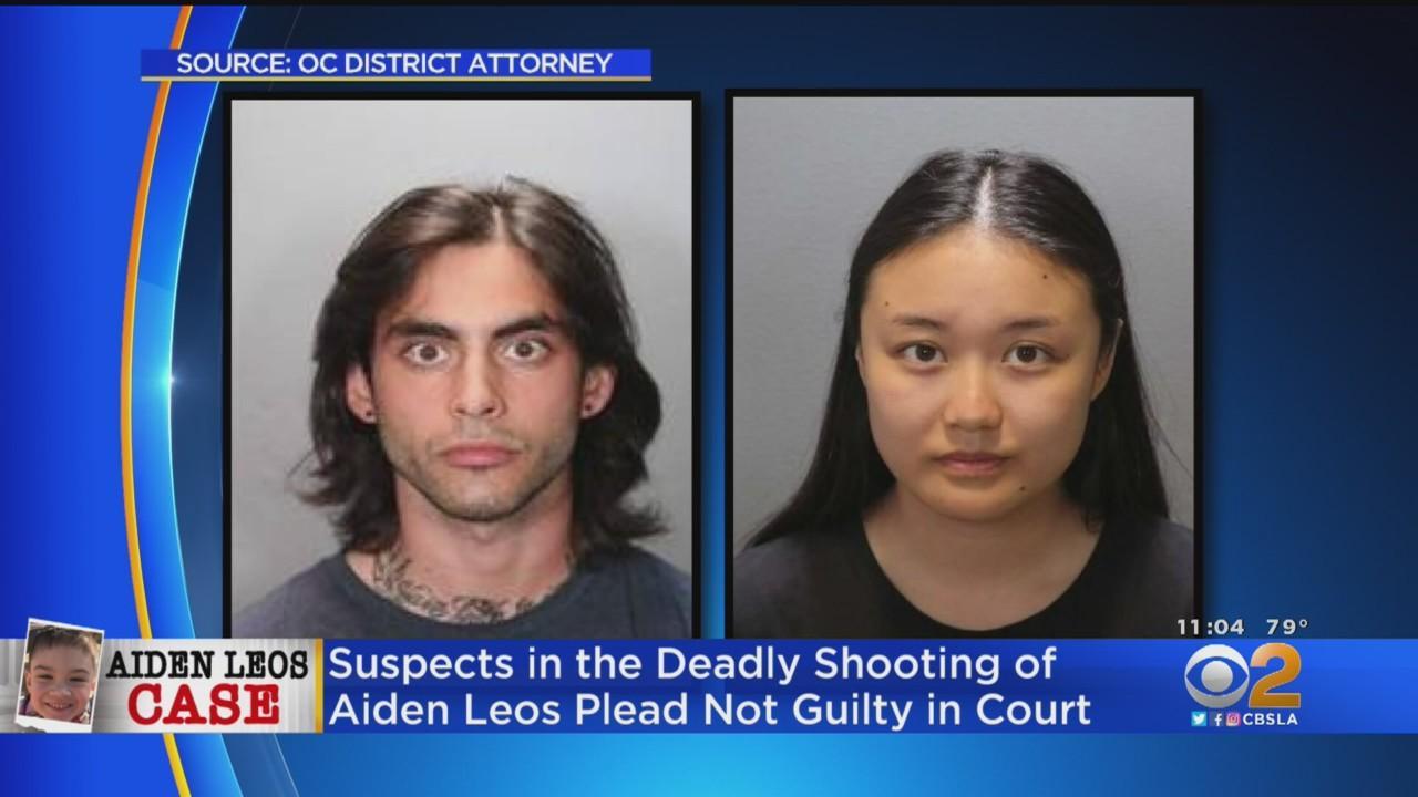 Marcus Eriz, Wynne Lee Plead Not Guilty In Road Rage Shooting Death Of 6-Year-Old Aiden Leos
