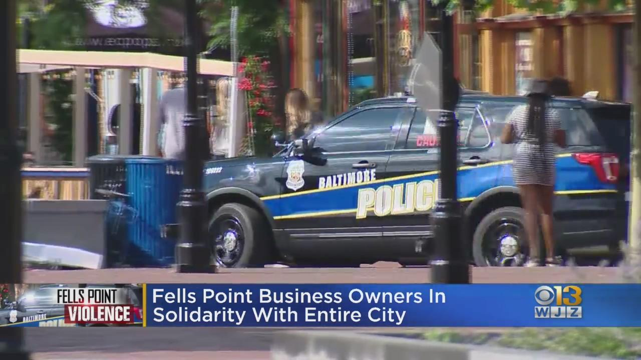 Fells Point Business Owners Say They Are In Solidarity With Entire City