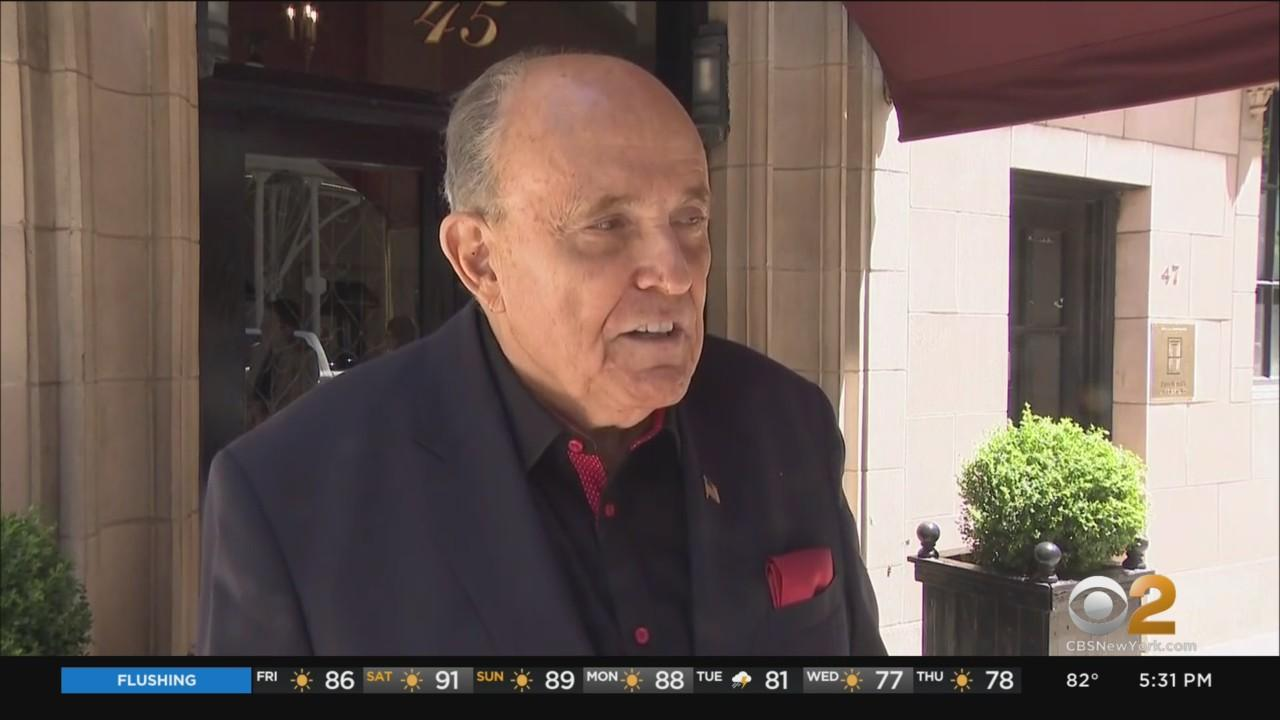 Rudy Giuliani Weighs In On NYC Mayoral Race