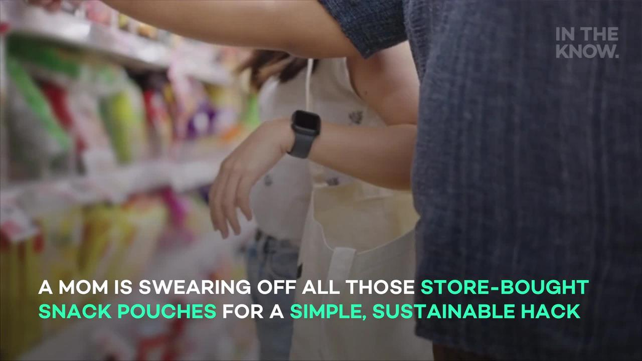 Mom's 'brilliant' DIY squeeze pouches help save money and the planet