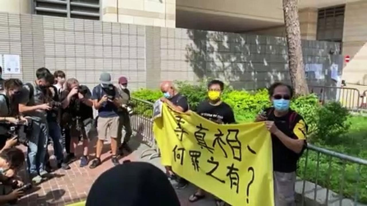 Hong Kong newspaper executives denied bail over 'national security' accusations