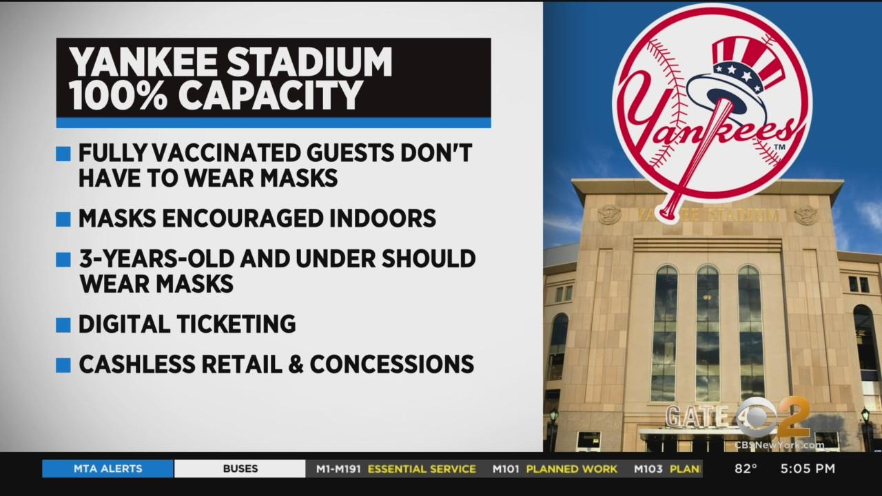 Yankee Stadium, Madison Square Garden Returning To Full Capacity