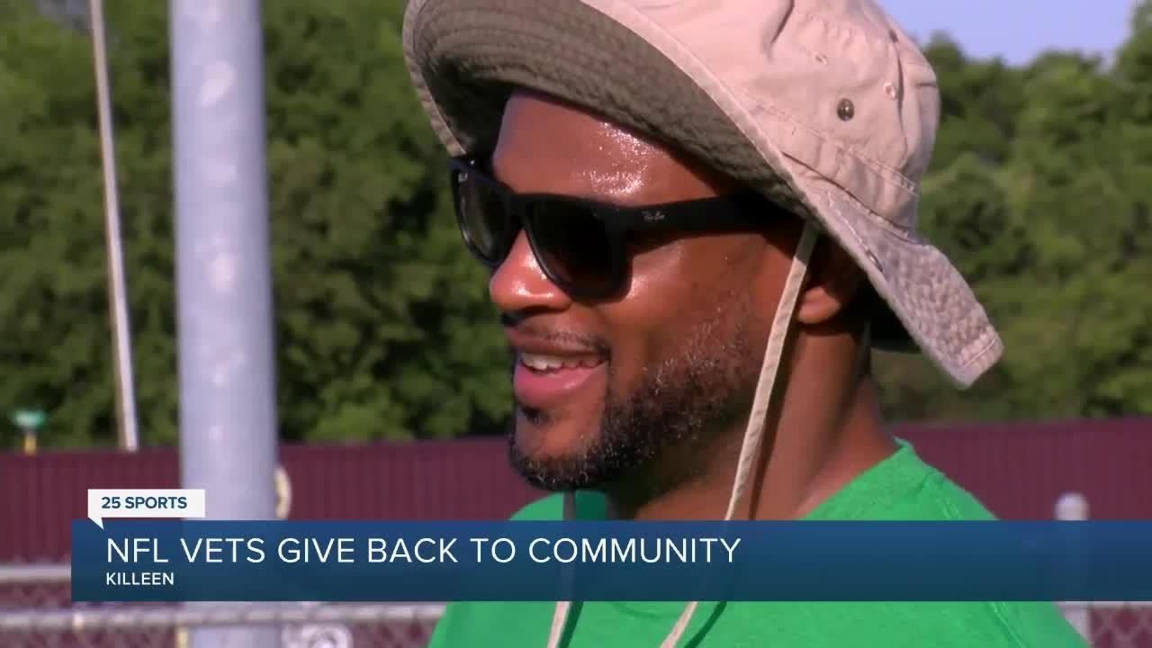 NFL vets give back to Killeen Community
