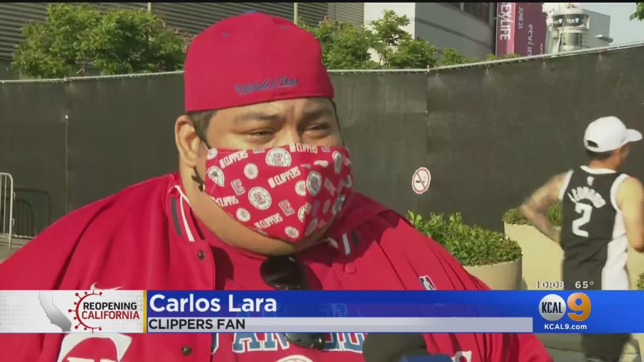 Staples At Full Capacity For First Time Since March Of 2020 As Clippers Make History