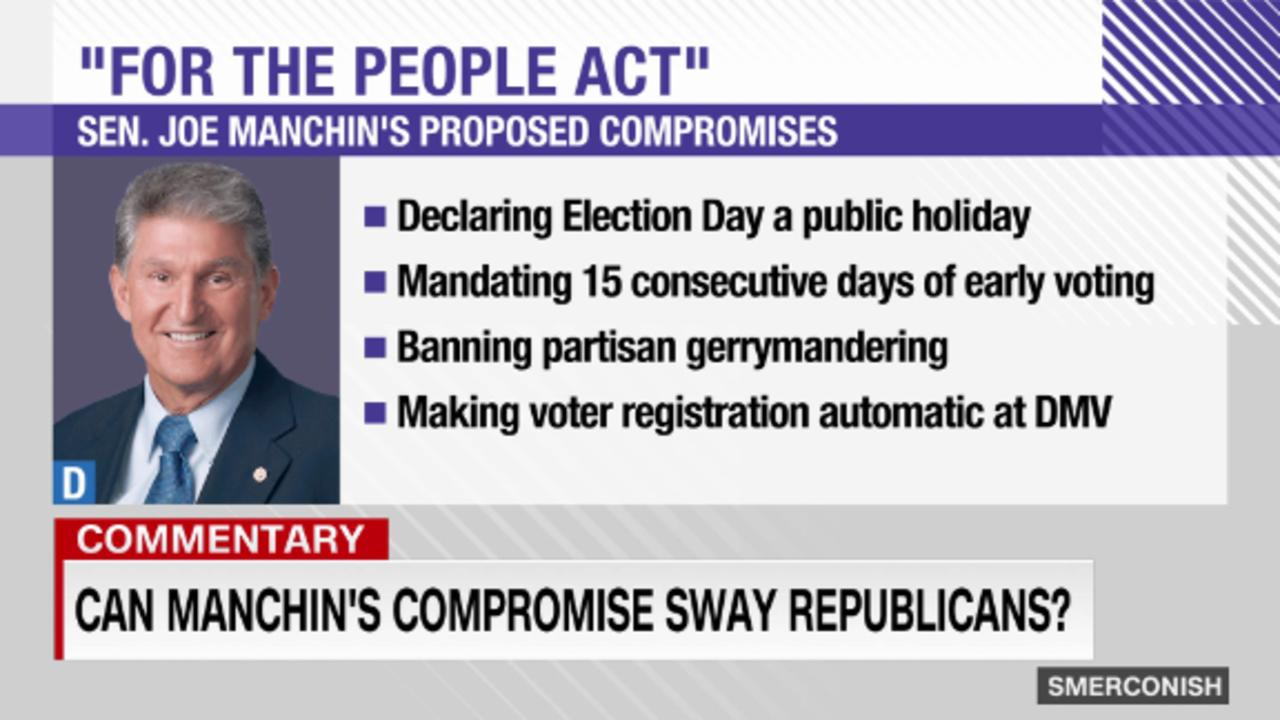 Smerconish: Can Manchin's voting rights compromise sway GOP?
