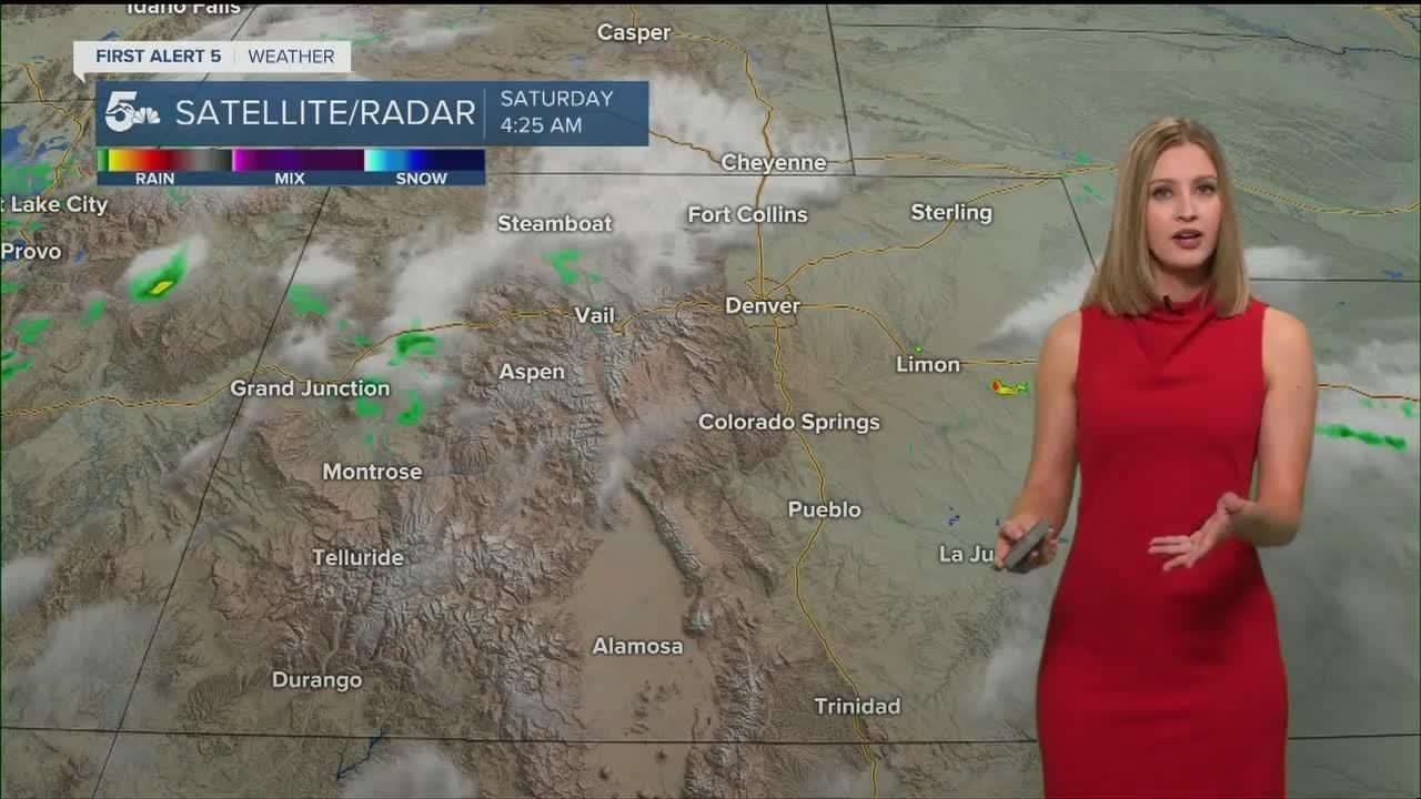 Thunderstorms expected Saturday afternoon and evening in Colorado