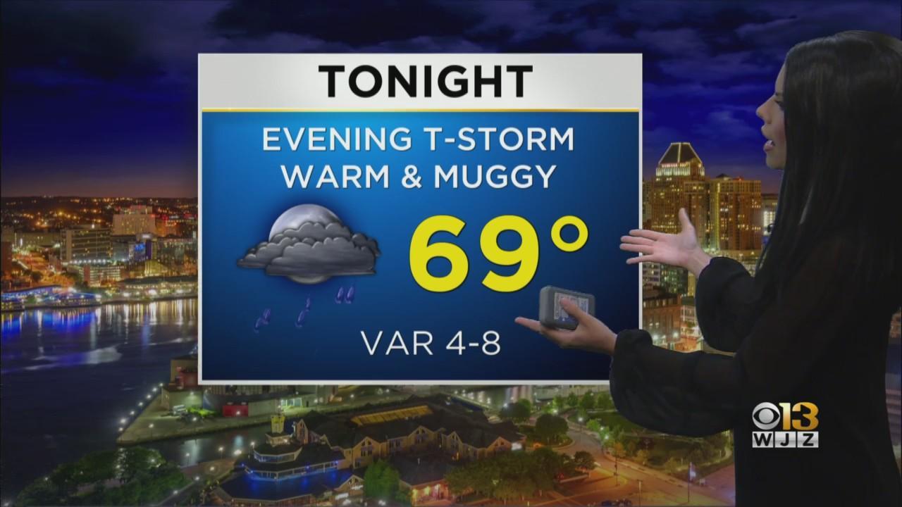 Meteorologist Chelsea Ingram Has Your Saturday Evening Weather