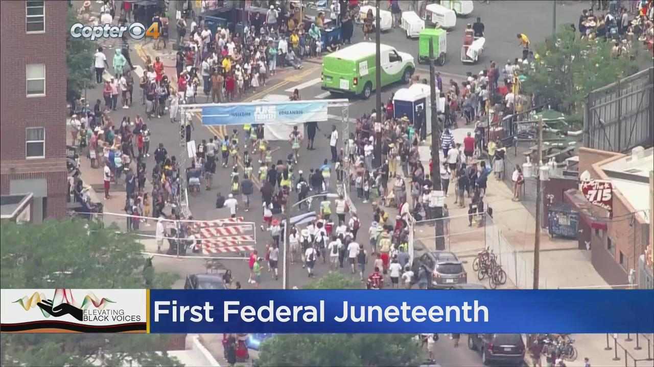 Juneteenth 2021: Thousands Celebrate Newest Federal Holiday In Denver's Five Points Neighborhood