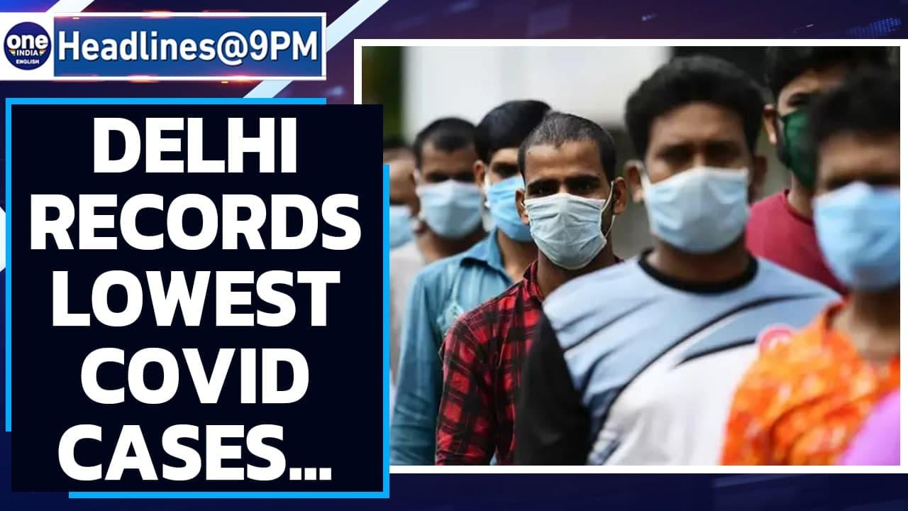 Delhi records lowest Covid cases since February 16; Delta plus variant causes worry   Oneindia News