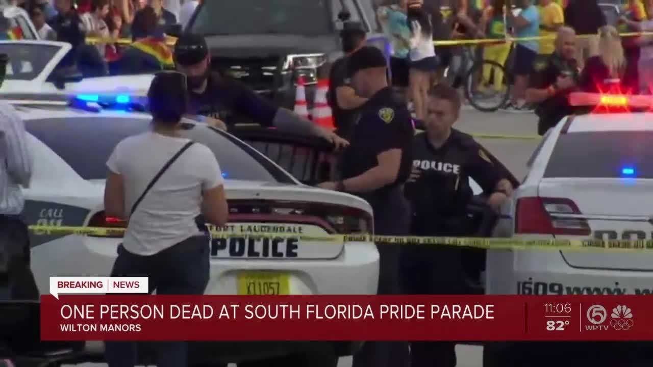 1 dead at South Florida Pride parade