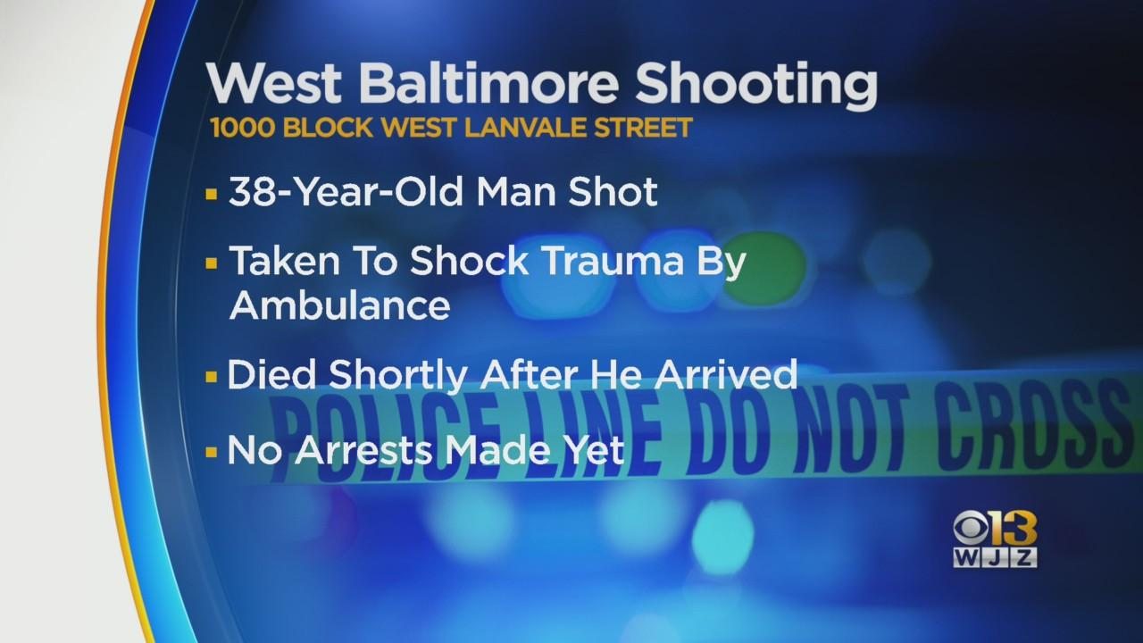 38-Year-Old Man Killed In West Baltimore Shooting