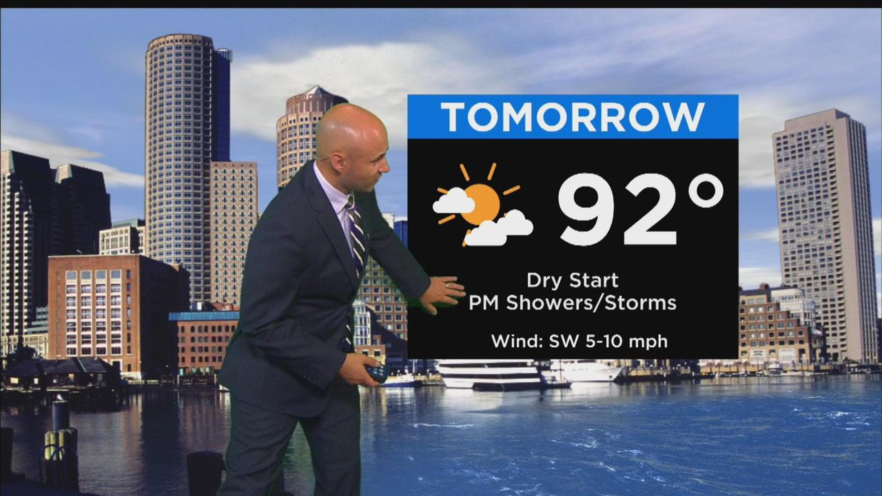 WBZ Mid-Morning Forecast For June 20