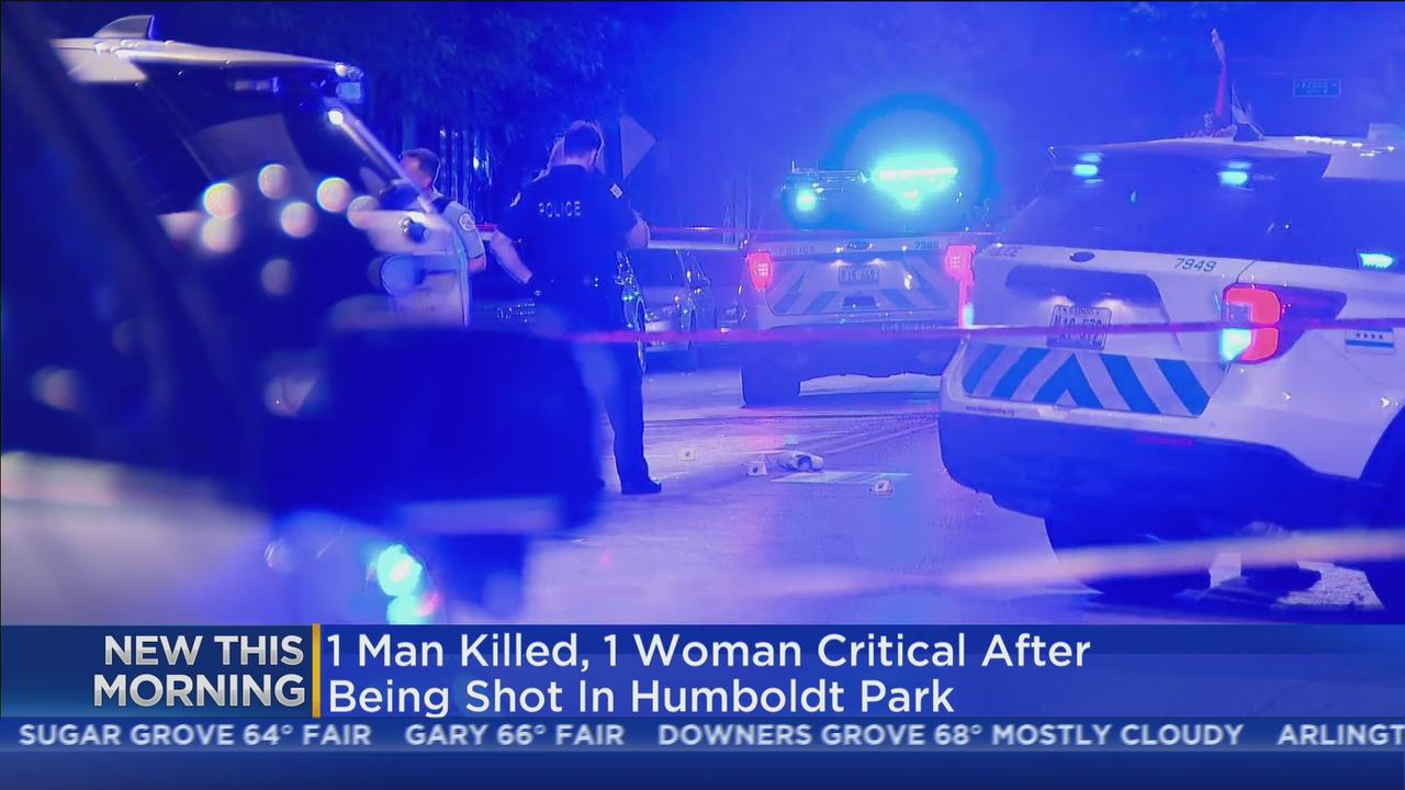 Man Killed, Woman In Critical Condition After Humboldt Park Shooting