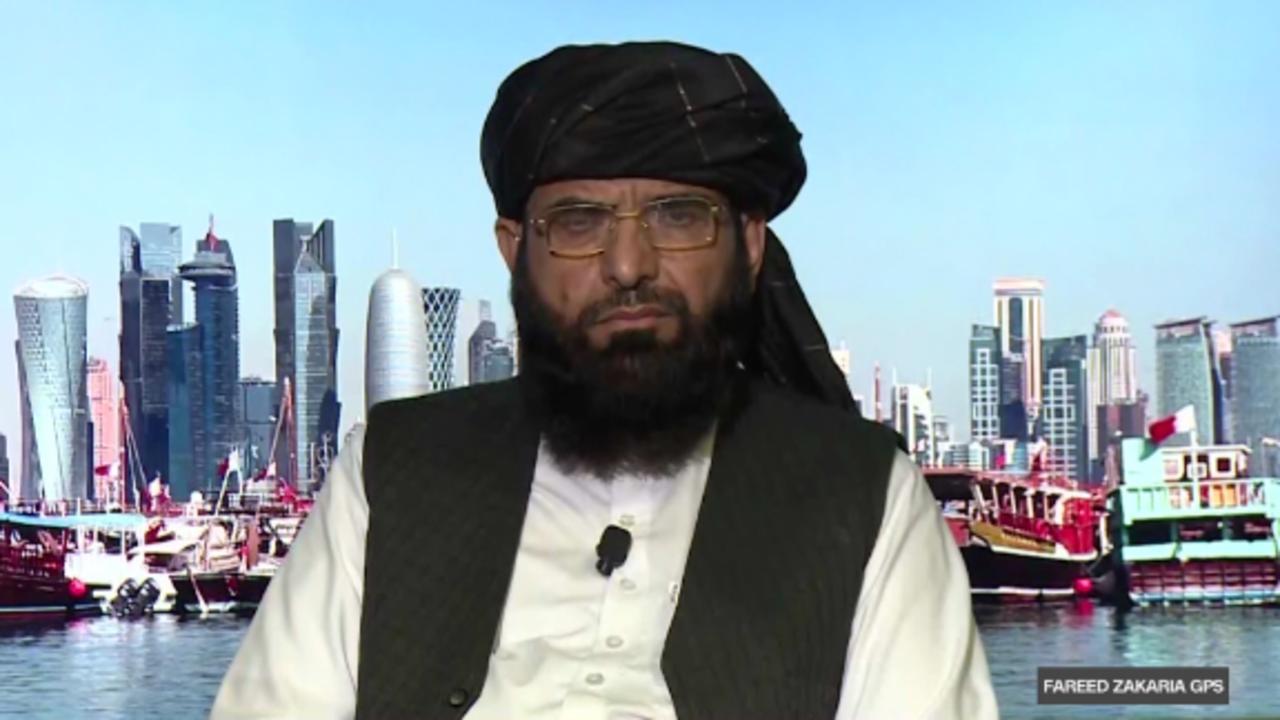 On GPS: Taliban spokesman on the future of Afghanistan