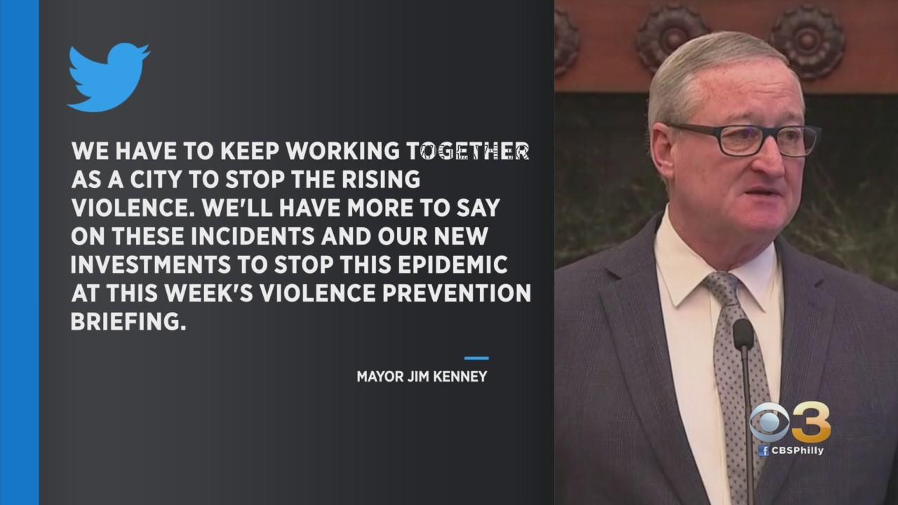 Philadelphia Mayor Jim Kenney Responds To Weekend Violence Across City