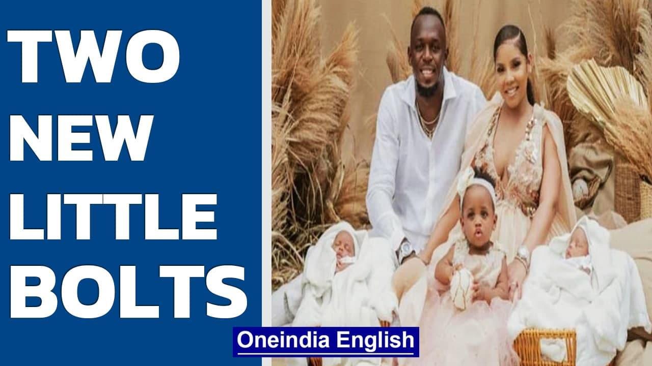 Usain Bolt & partner Kasi Bennett give birth to twin; Named Thunder & Saint Leo Bolt   Oneindia News