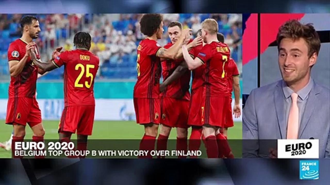 Euro 2021: Belgium wins 3rd straight at Euro 2020, beats Finland 2-0
