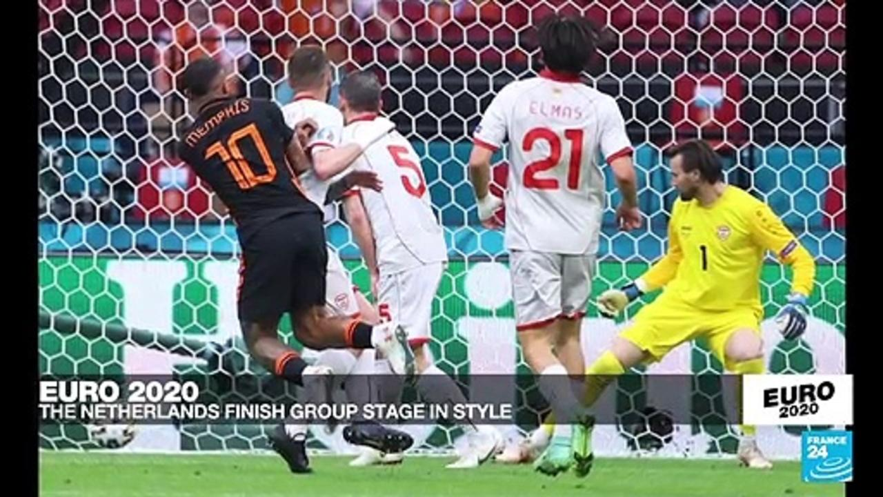 Euro 2021: The Netherlands finish group stage in style