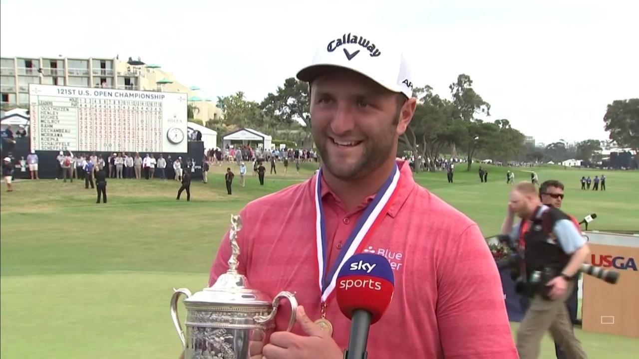 Rahm: I felt win was going to happen
