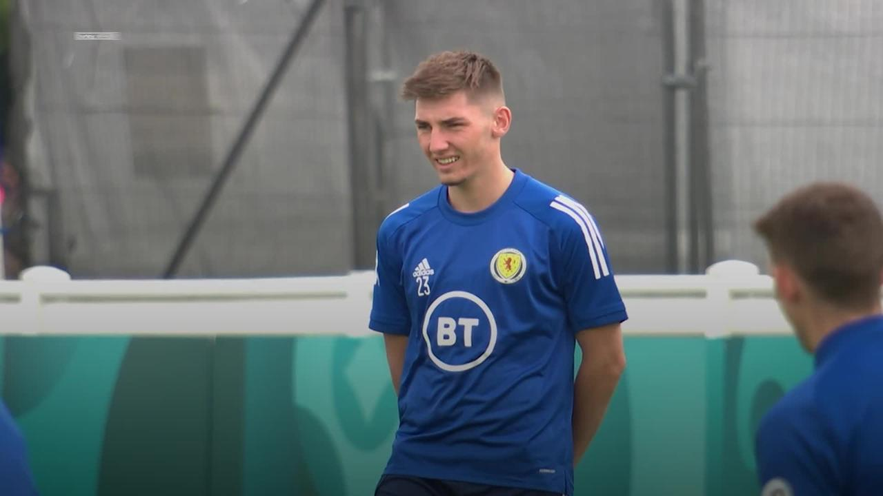 Major blow for Scotland as Billy Gilmour tests positive for coronavirus