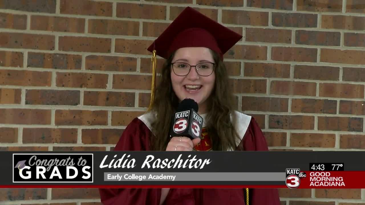 Congrats to Grads: Lidia Raschitor