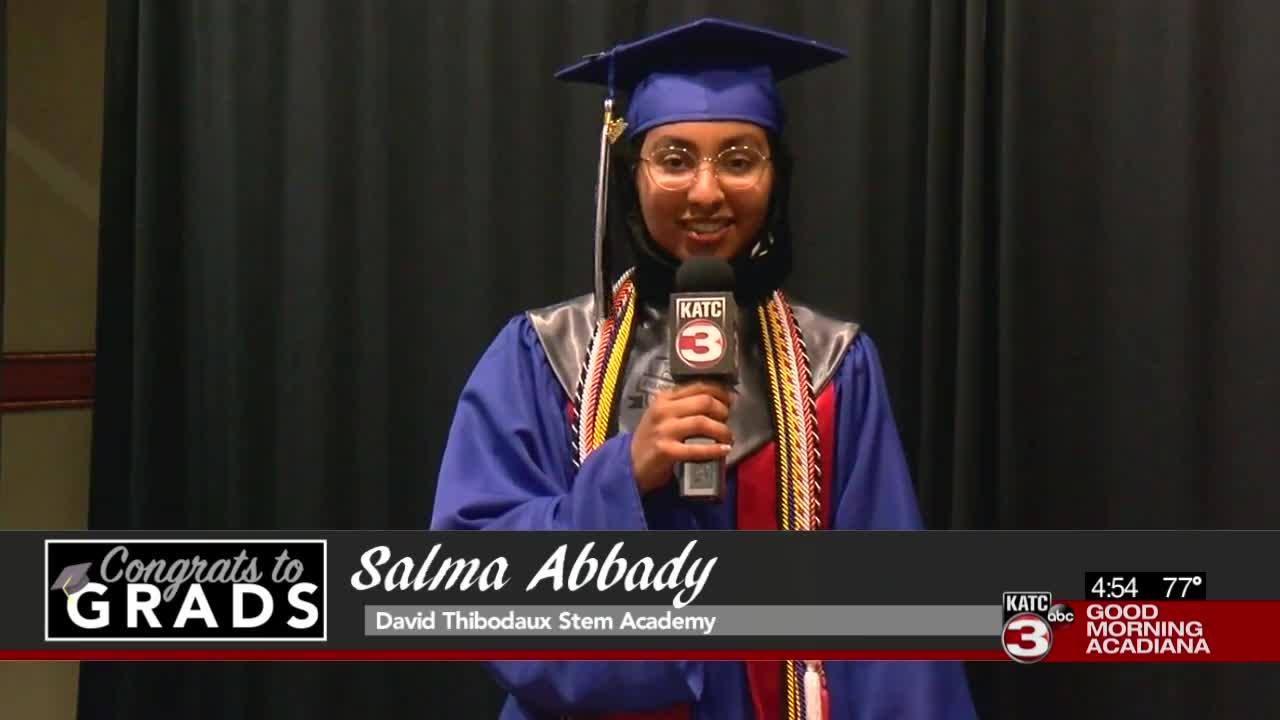 Congrats to Grads: Salma Abbady