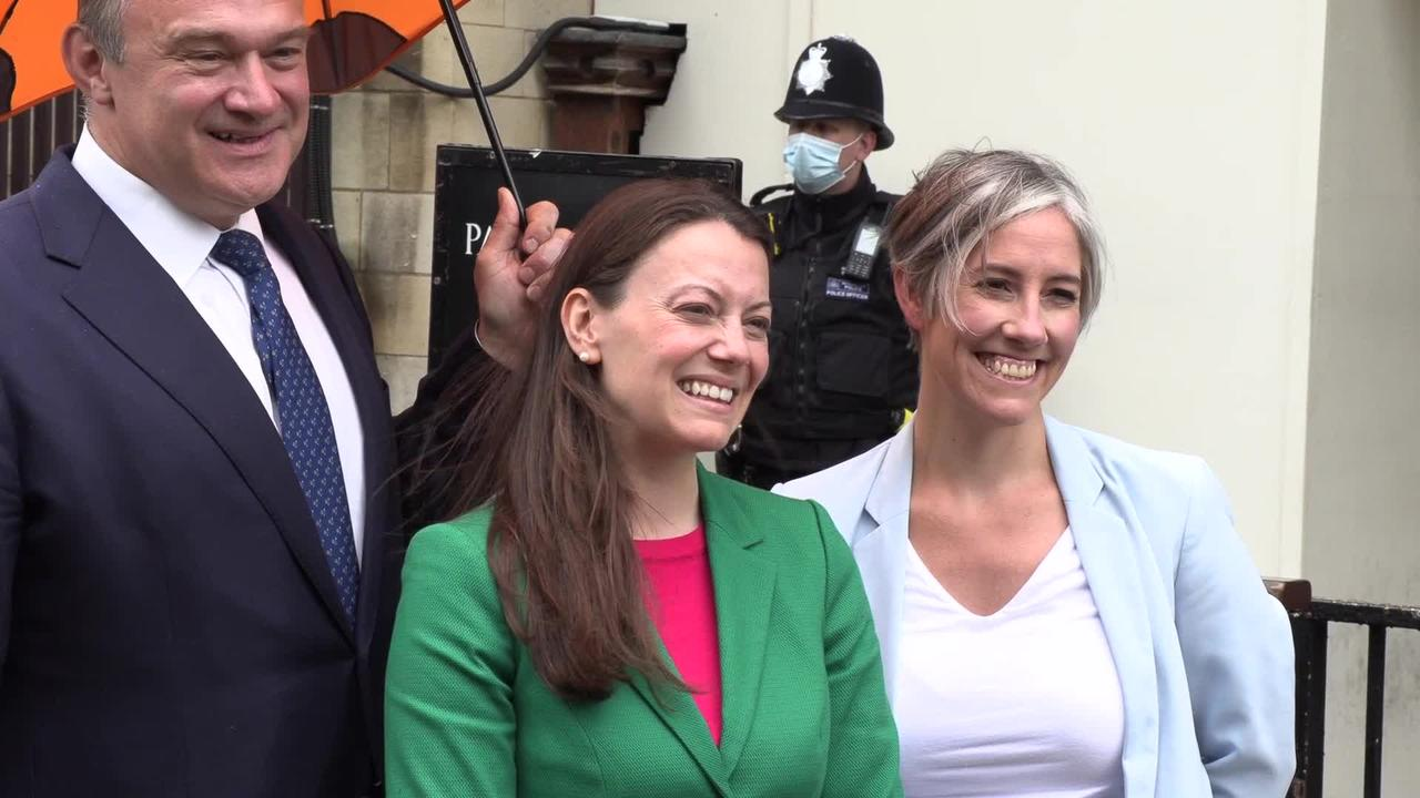 New Liberal Democrat MP arrives in Westminster with warning to Tory Blue Wall