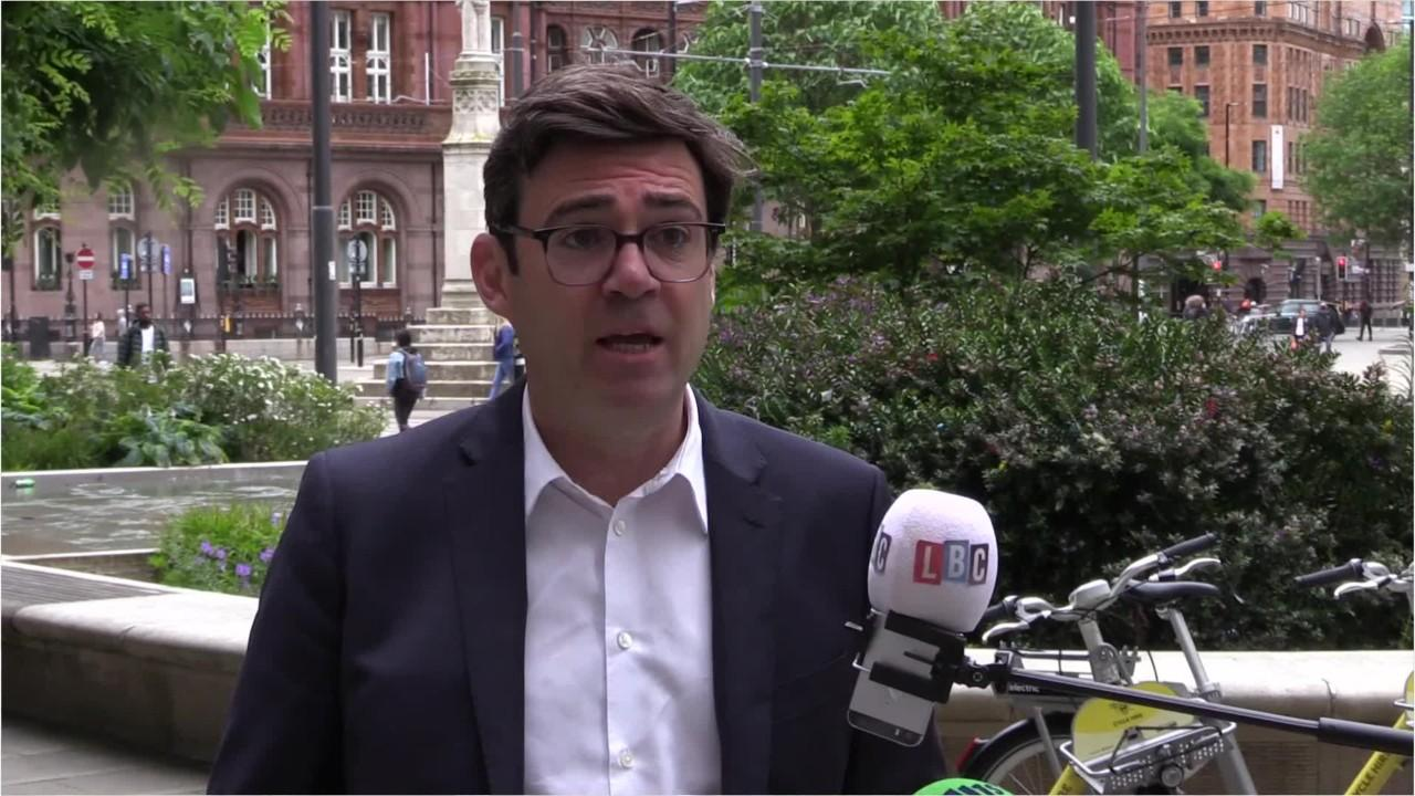 Mayor of Greater Manchester Andy Burnham hits out at Scottish travel ban