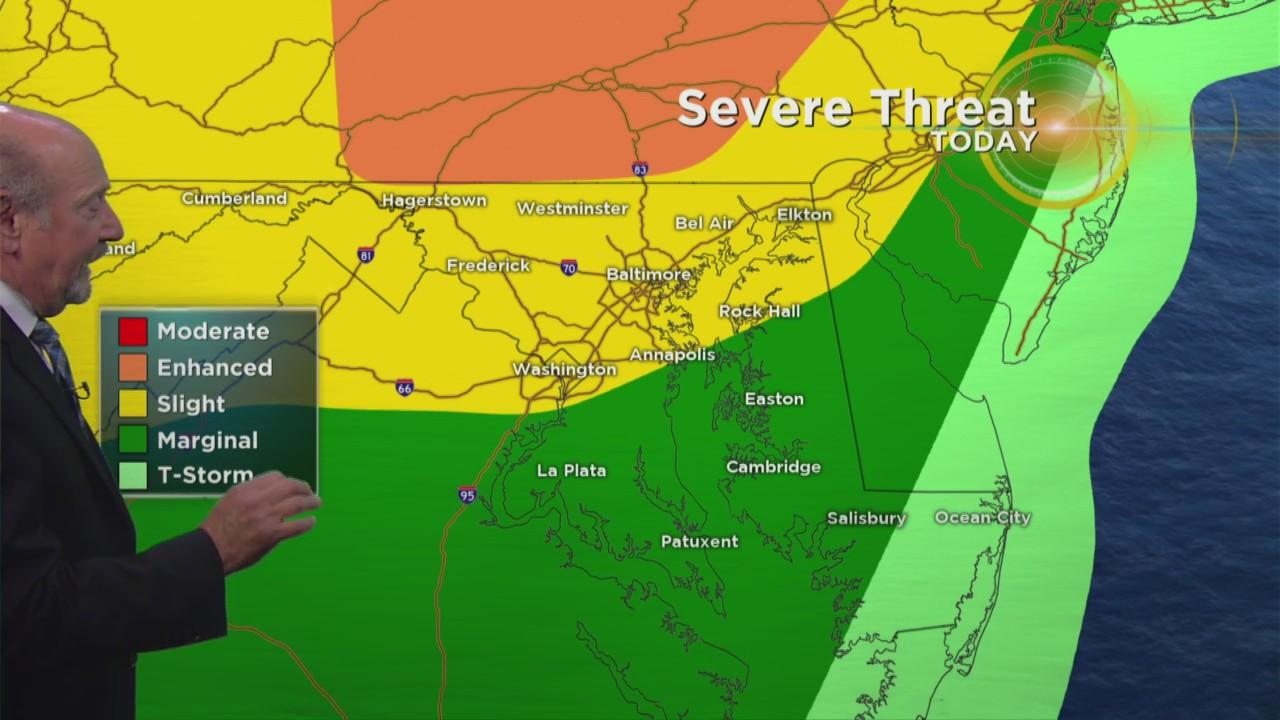 Marty Bass Has Your Monday Afternoon Weather Forecast