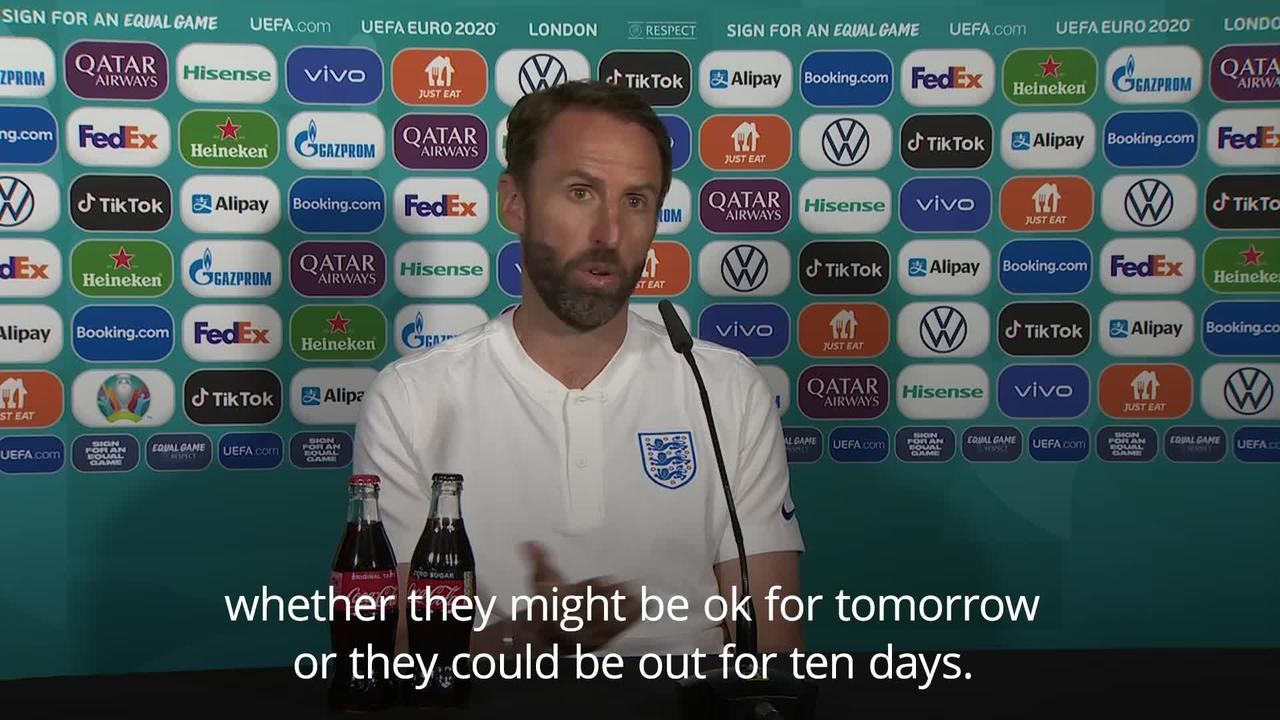 Southgate not ruling isolating players out of Czech Republic game