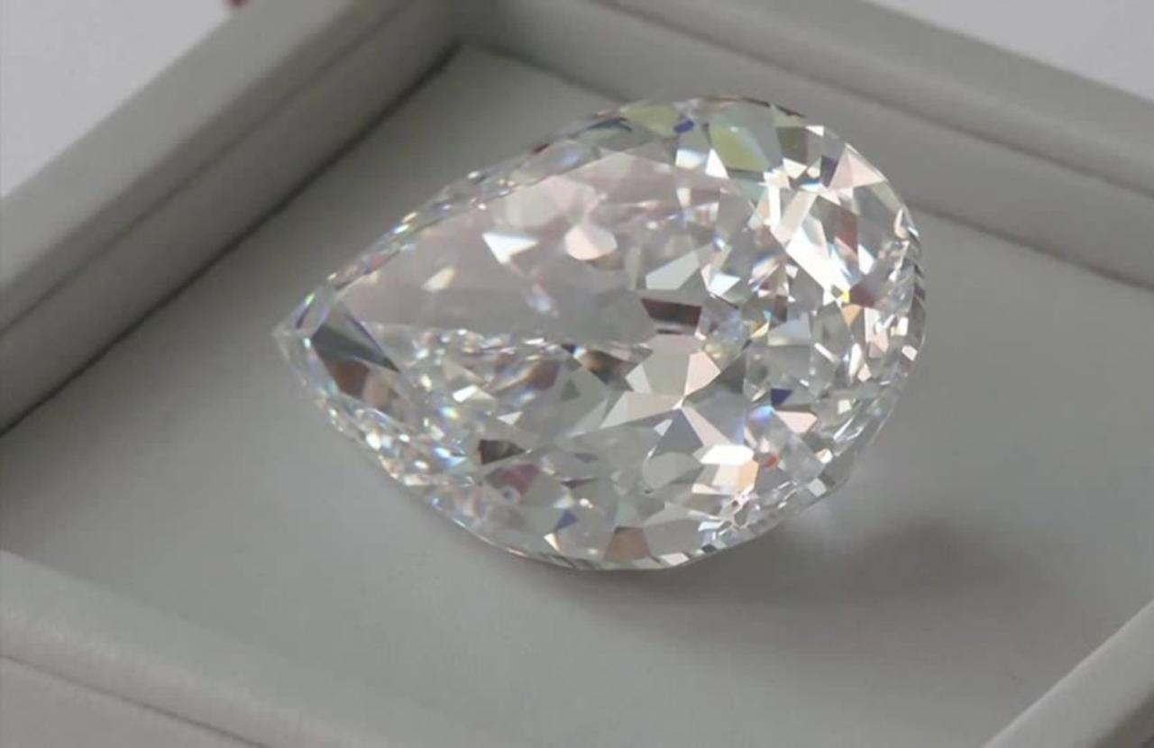 Sotheby's diamond auction marks bitcoin milestone