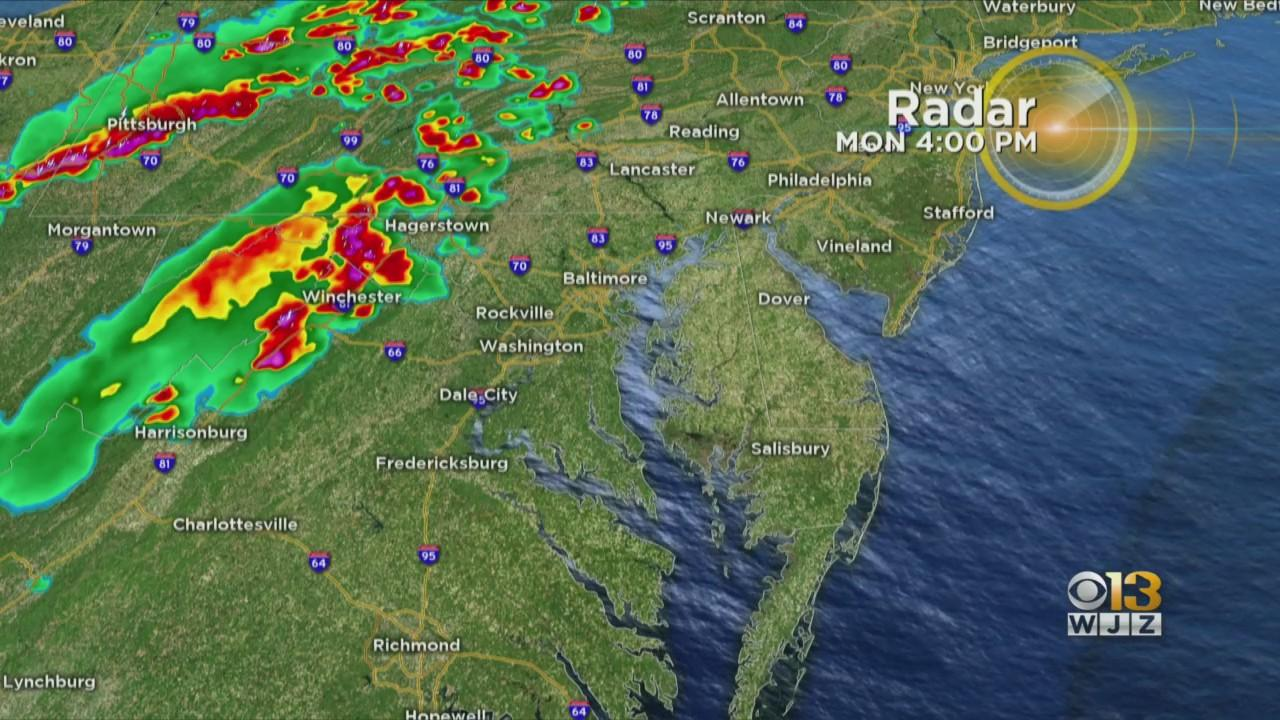Maryland Weather: Severe Thunderstorm Watch Issued For Parts Of State