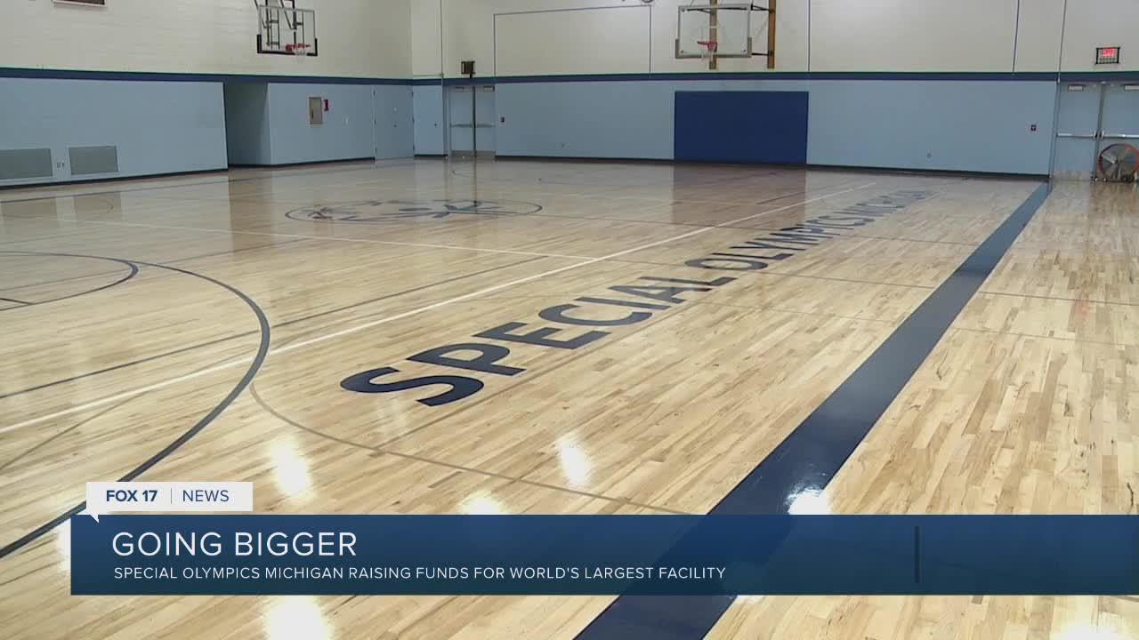 Special Olympics Michigan  says remodeled training facility going to be 'game changer'