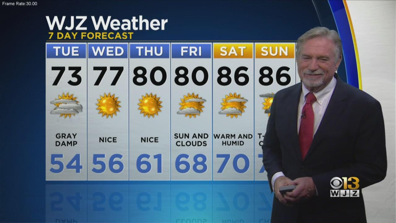 Bob Turk Has A Look At Your Evening Forecast.