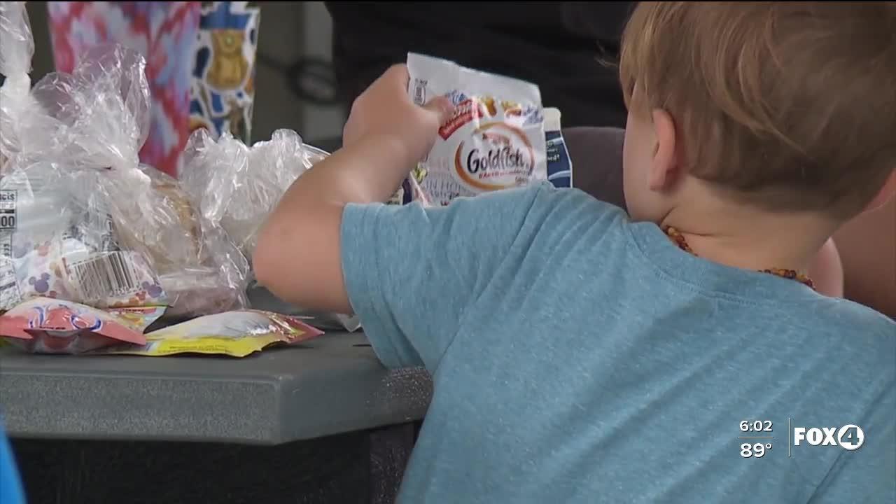 Lee County schools summer feeding program kick off