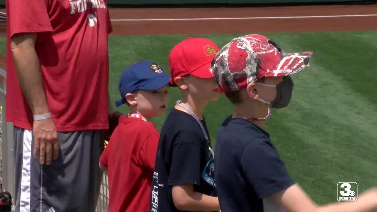 NCAA celebrates Kids Day at College World Series