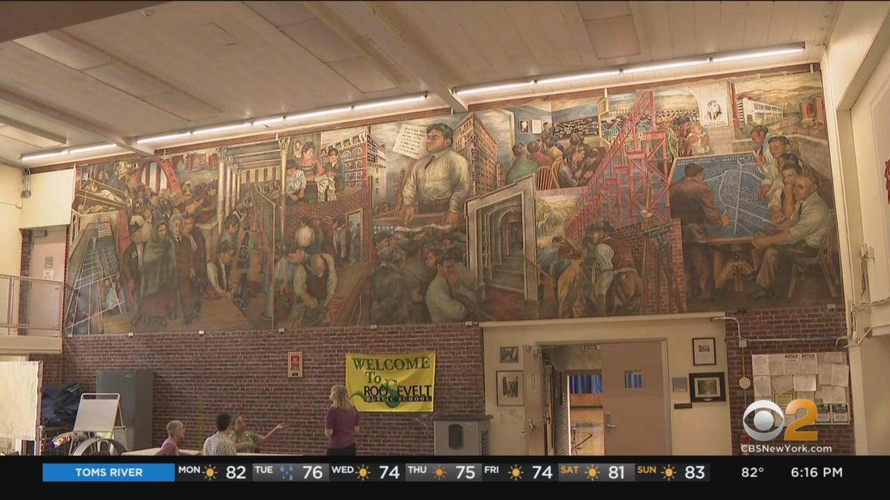 Questions About Future Of New Jersey School Threatens Historic Mural