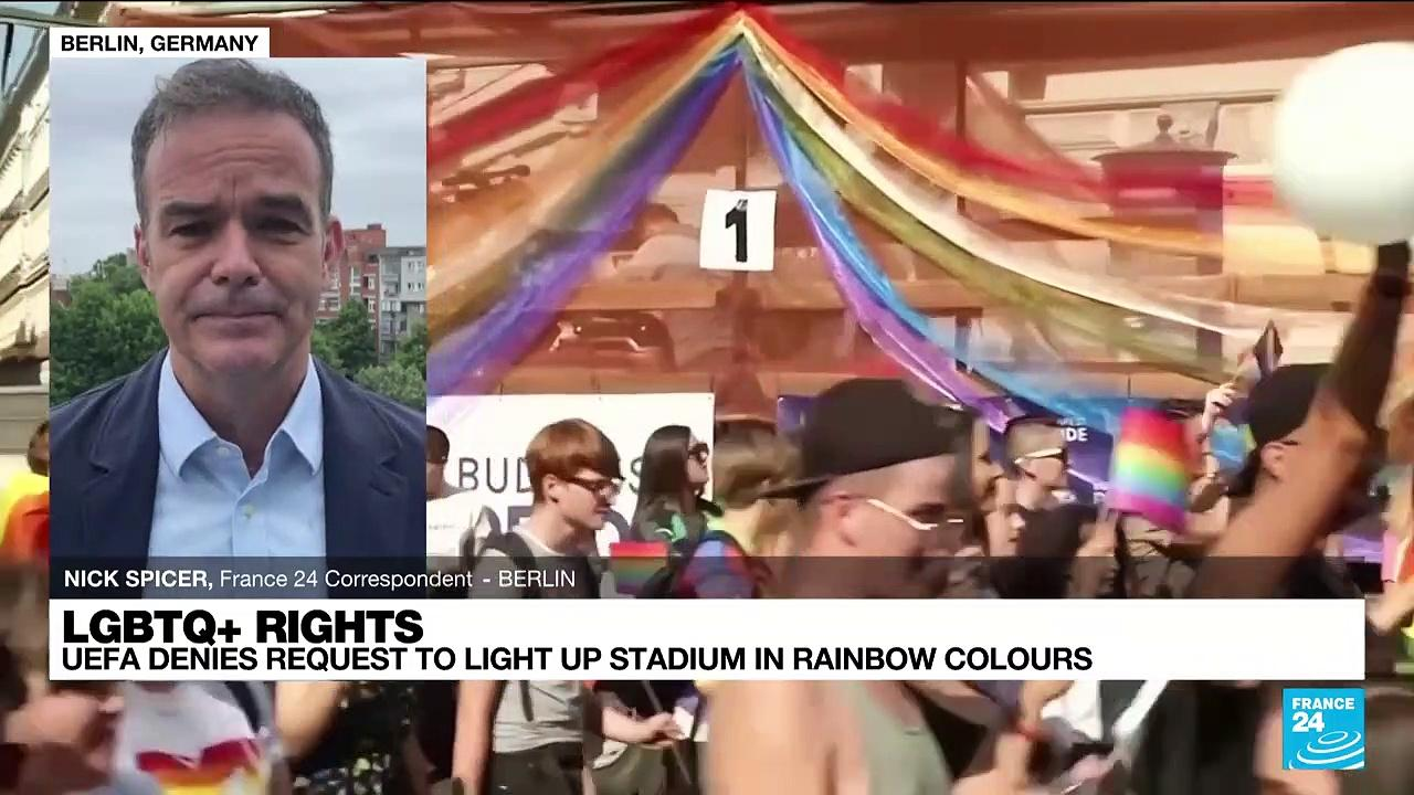 Lgbtq+ rights: UEFA refuses to light Munich stadium in rainbow colours for Germany-Hungary match