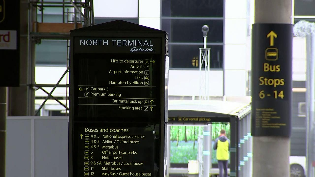 Gatwick travellers react to possible double-jab policy