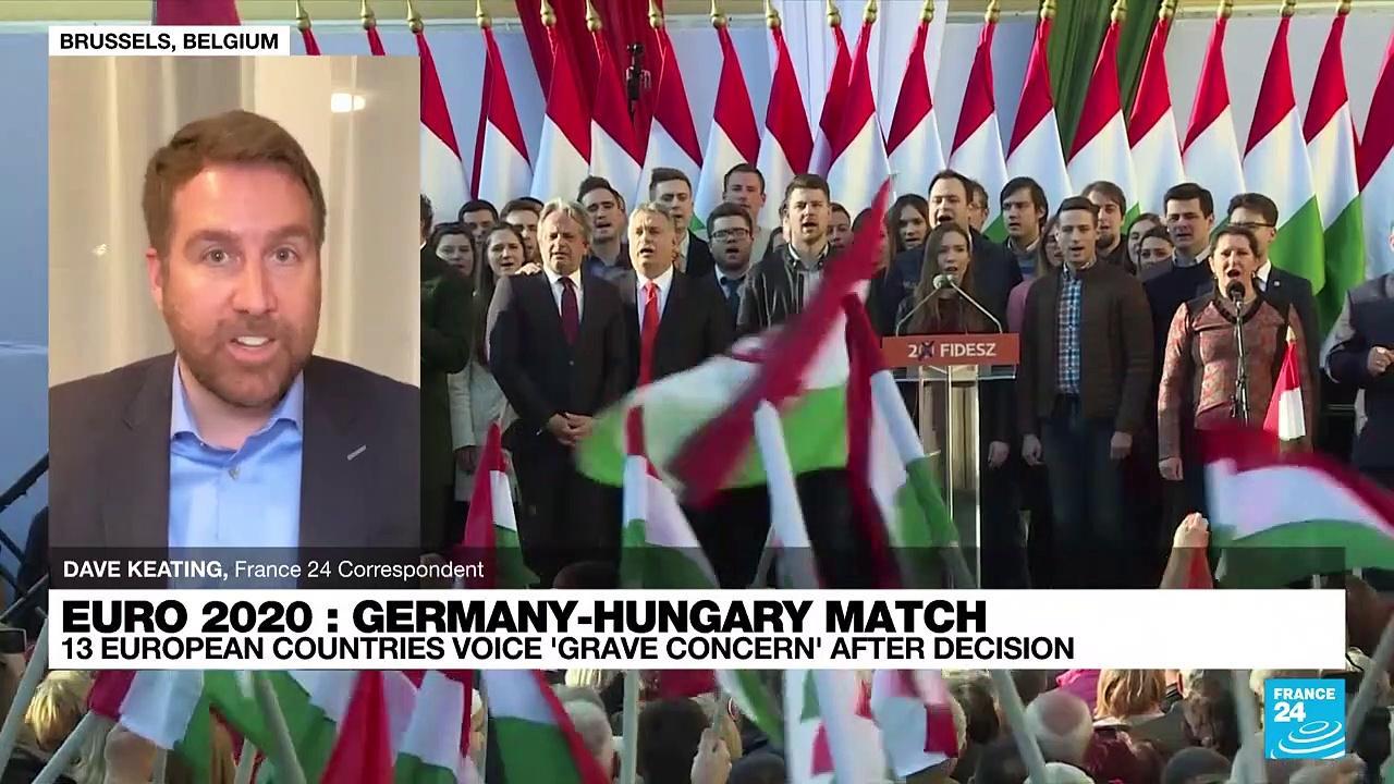 UEFA blocks rainbow lighting for Germany-Hungary match in Munich