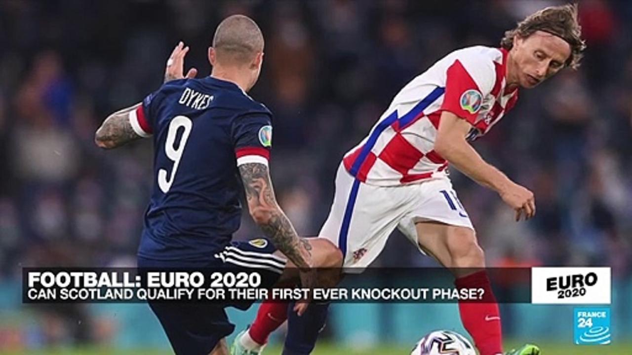 Croatia beat Scotland 3-1 to reach Euro 2021 last 16