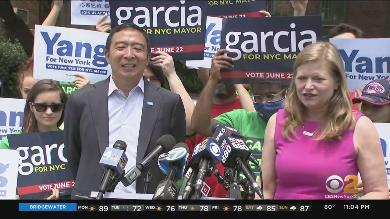 NYC Mayoral Candidates Make Final Push On Eve Of Primary