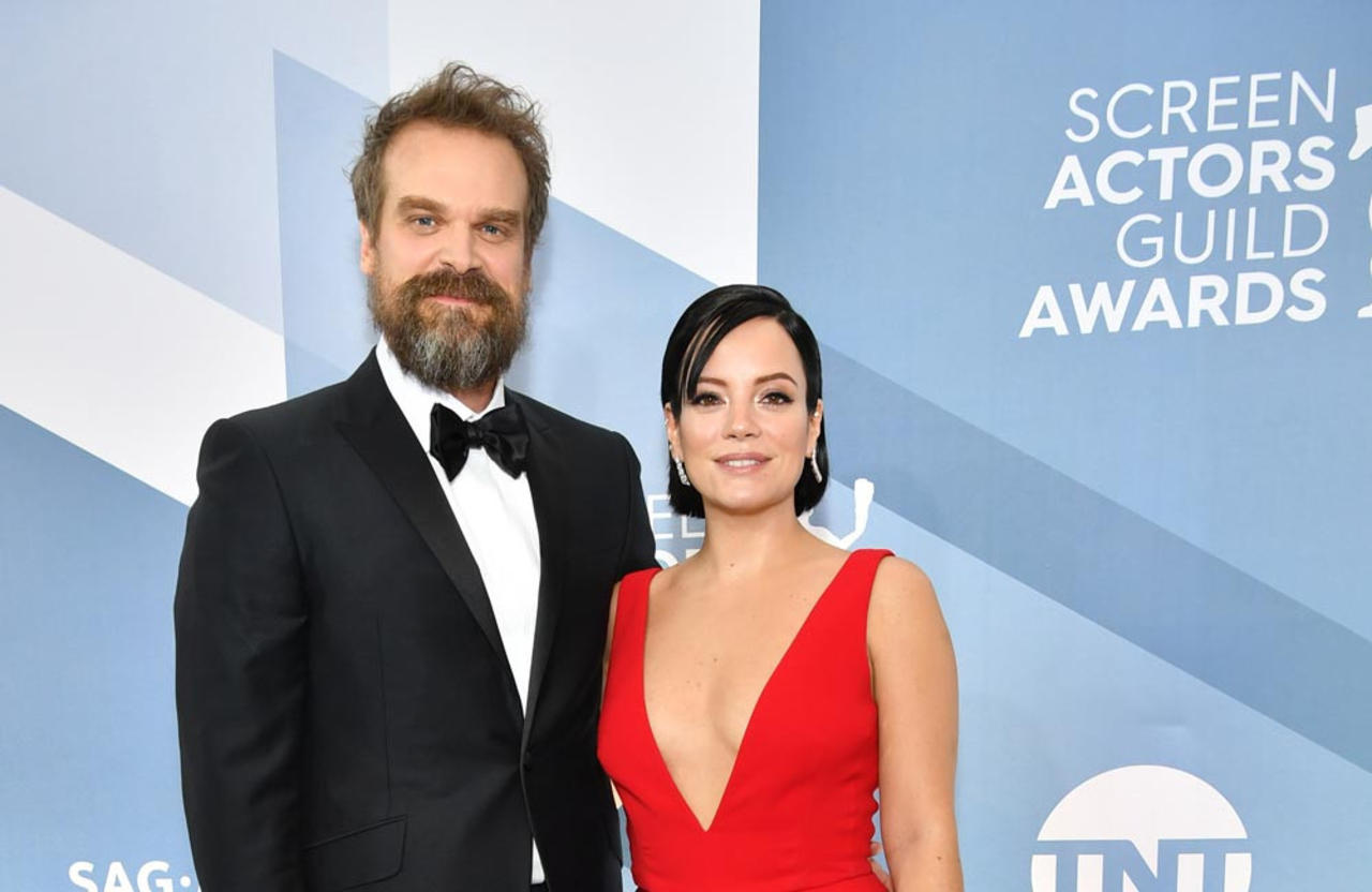 David Harbour reveals what he REALLY thinks of wife Lily Allen