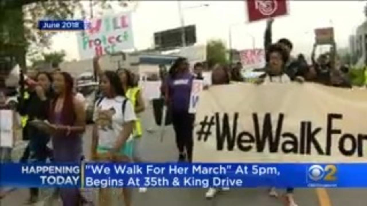 'We Walk For Her' Tuesday Night In Bronzeville