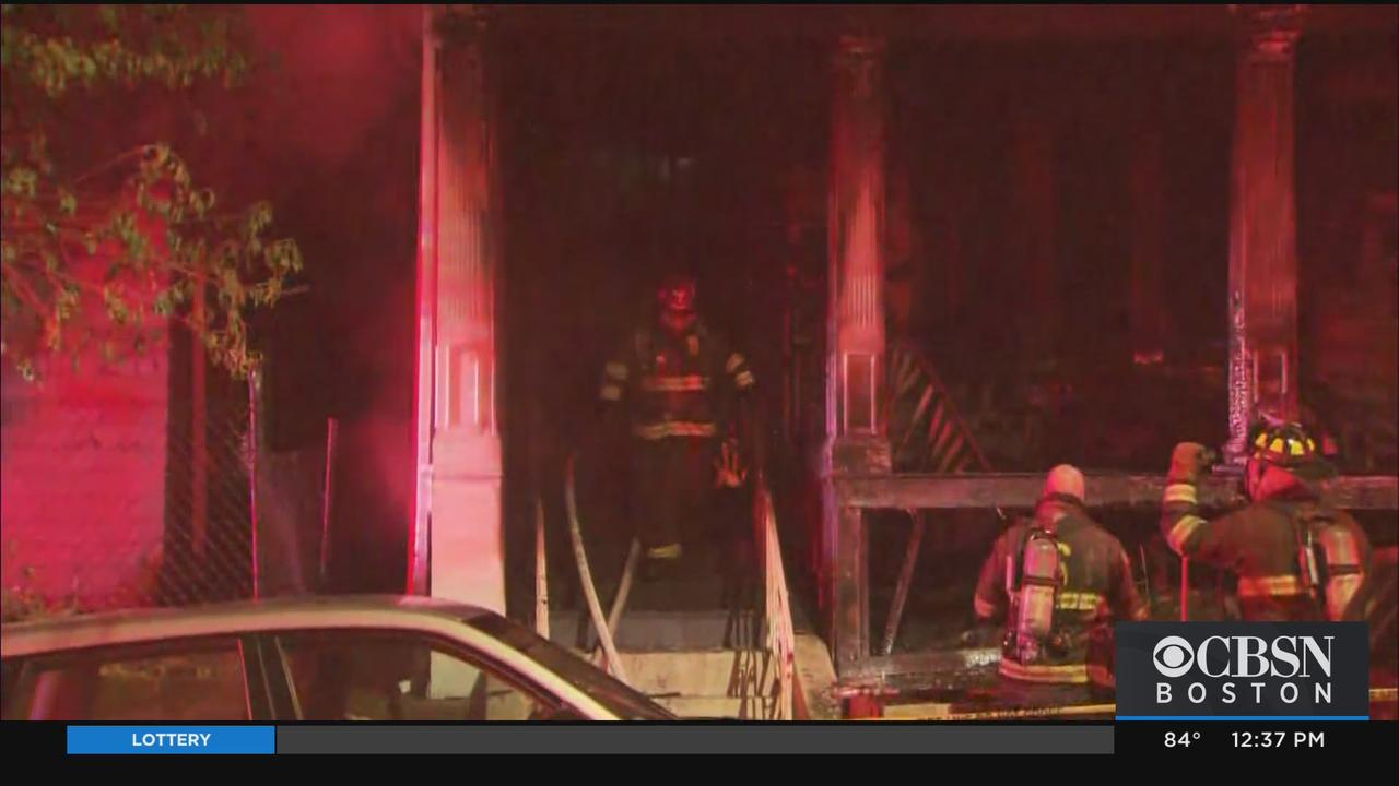 Police Officer Rushes Into Burning Somerville Home, Alerting Residents To Fire