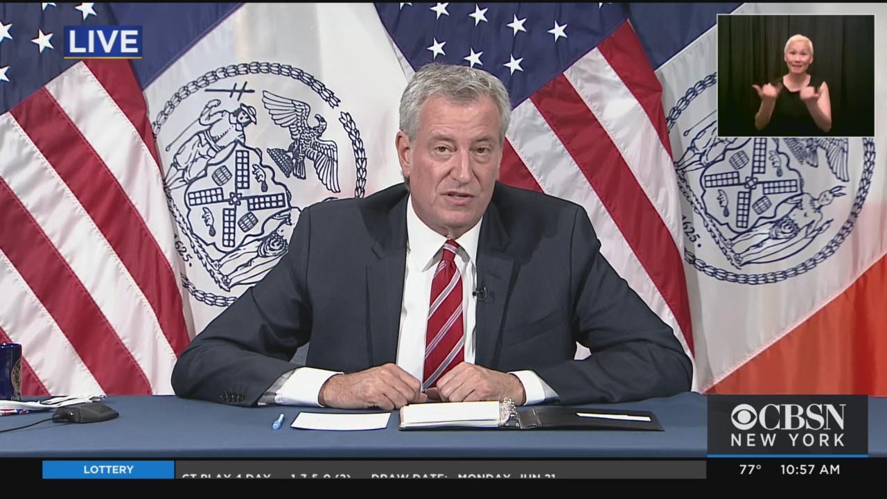 Mayor De Blasio's Primary Day Presser