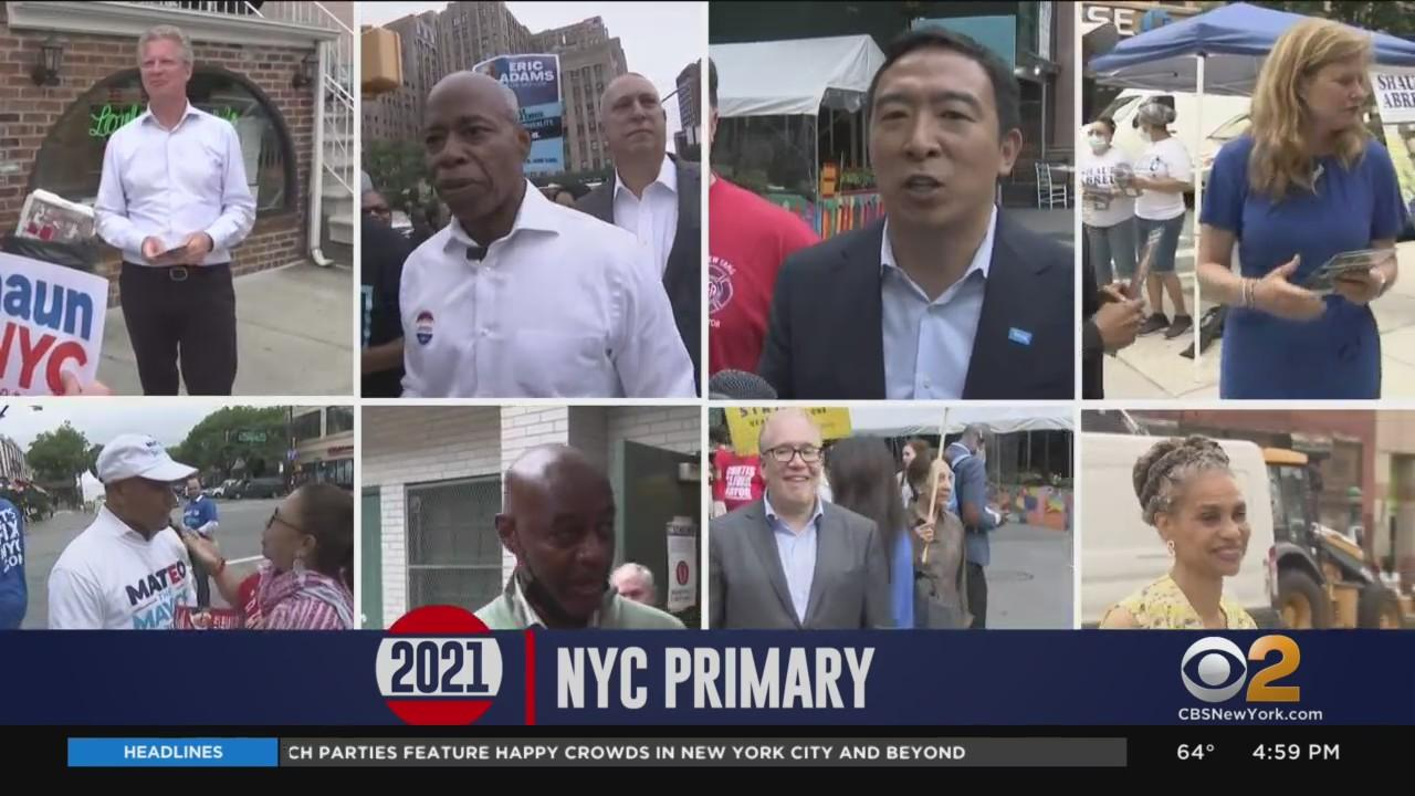 NYC Mayoral Candidates Make Final Push On Primary Day