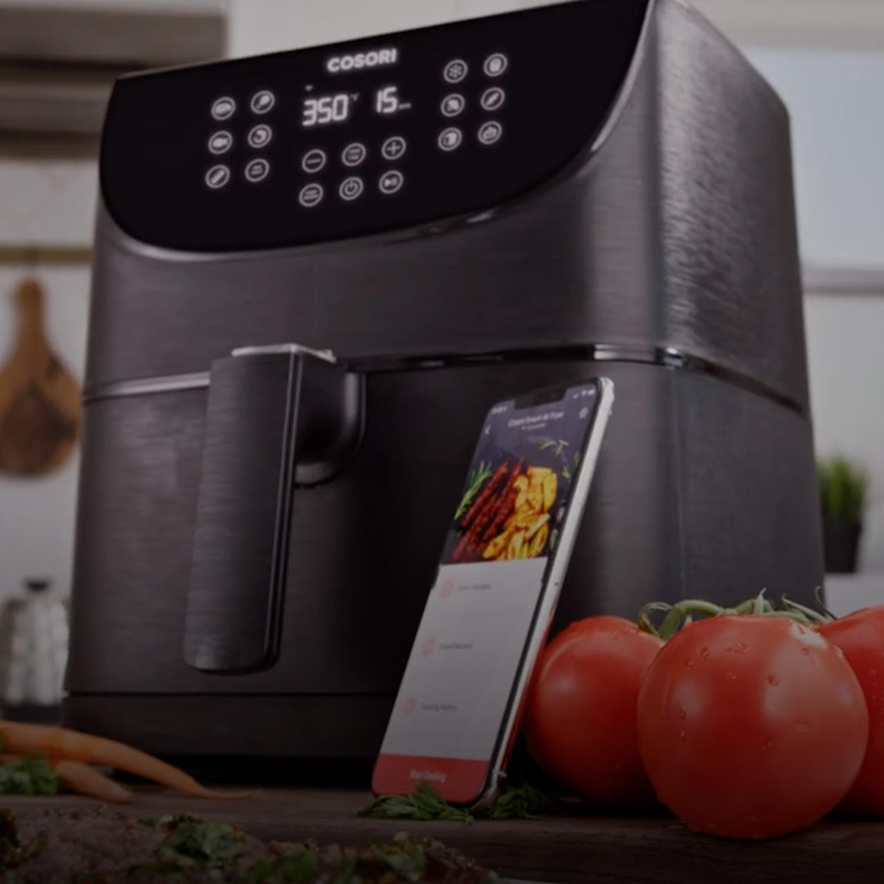 Get a great deal on this smart air fryer today during Amazon Prime Day