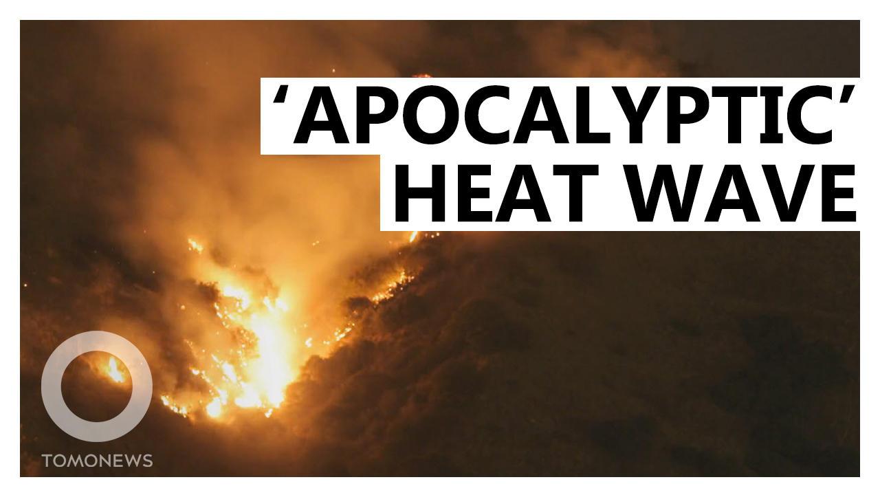 Dangerous Heat Wave Starts Fires Across U.S.